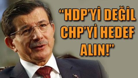 Seçimde Hedef CHP!