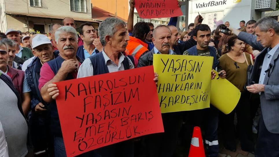 Sarıyer Belediyesi grevde!