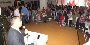Sivil toplum kuruluşları ile gövde gösterisi.