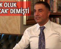 Sedat Peker çark etti
