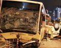 Metrobüs yolunda facia: 5 ölü, 5 yaralı