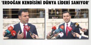 'Erdoğan siyasi parti lideri gibi konuştu'