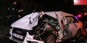 Sarıyer'de trafik kazası: 2 ölü