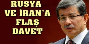 Davutoğlu'ndan 'kriz' açıklaması