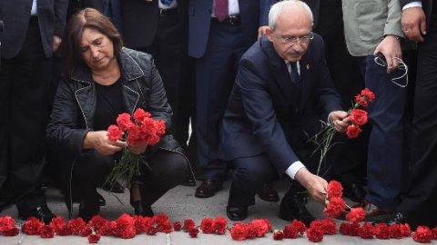 CHP'den 'Barış Meydanı' çağrısı
