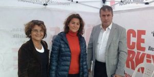 CHP çadırına süpriz ziyaret