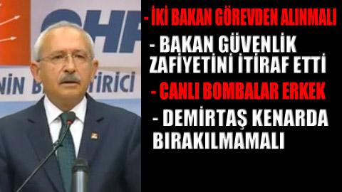 CHP liderinden önemli açıklamalar