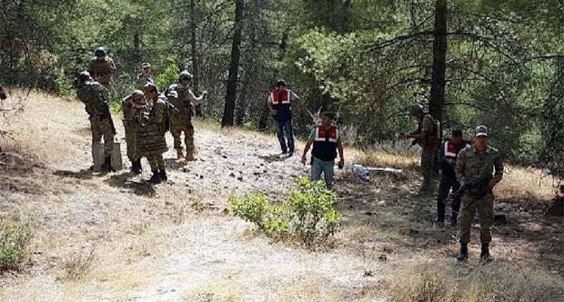 TSK: Suriye sınırında hava aracı düşürüldü