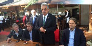 AK Partili Hayati Yazıcı, Emirgan SÜTİŞ'te