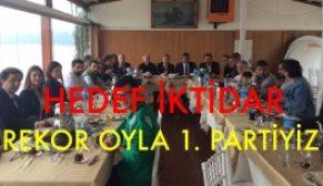 CHP Sarıyer basın ile buluştu.