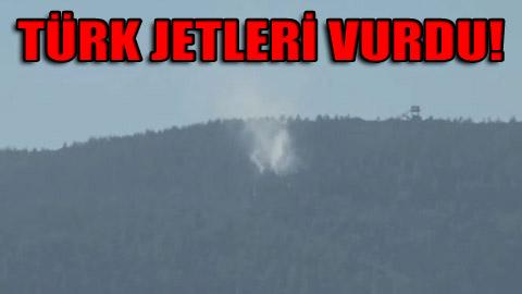 Savaş uçağı düşürüldü!