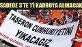 AKP taşeronda da çabuk çark etti.