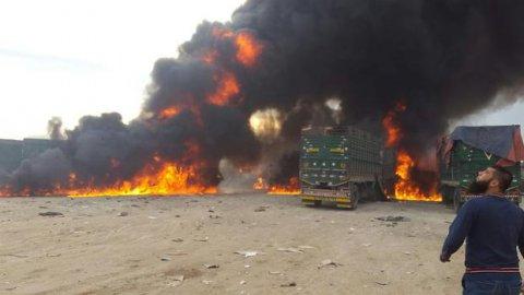 Rusya'dan misilleme: Türk konvoyu vuruldu