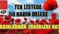 CHP Sarıyer'de Kadın Devrimi