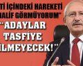 Kılıçdaroğlu: CHP'de çok şey değişecek
