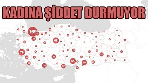 Türkiye'nin utanç haritası.