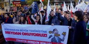 Sarıyer'de 'Obama' protestosu