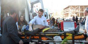 Pınar Mahallesi'nde kanlı kavga!