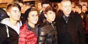 Erdoğan, Sarıyer'de…
