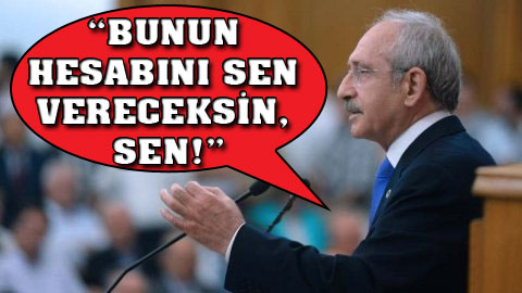 Kılıçdaroğlu: Diktatör bozuntusu!