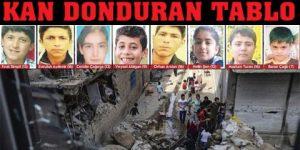 44 çocuk öldü 52 çocuk yaralı