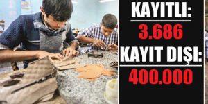400 bin Suriyeli kaçak işçi!
