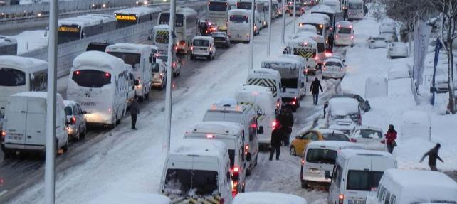 İstanbul'da 10 maddelik kar alarmı.