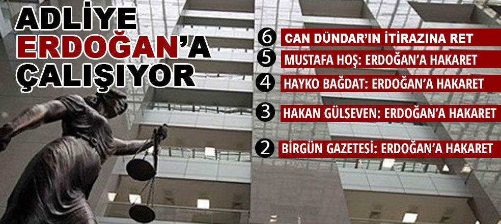 Adliye Erdoğan'a çalışıyor