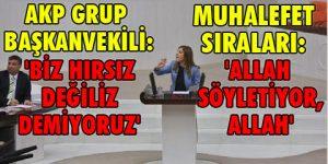 Meclis'te muhalefetin alkışladığı tek AKP'li