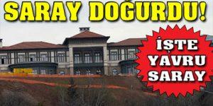 Erdoğan ailesi 'Yavru Saray'a yerleşti