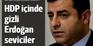 Demirtaş: HDP'de gizli Erdoğan seviciler vardı