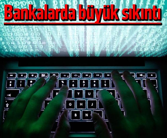 Bankalara siber saldırı