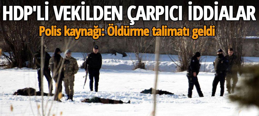 HDP'li vekilden Van'daki olayla ilgili çarpıcı iddialar
