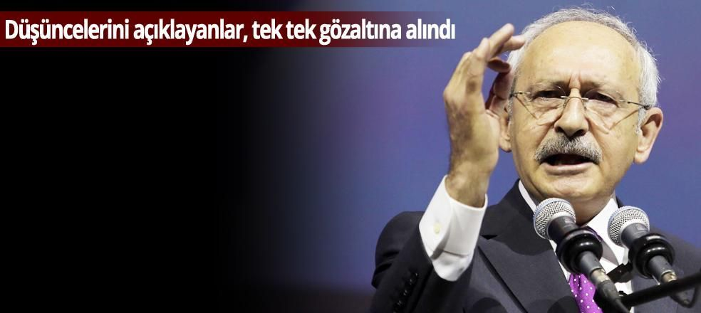 Kılıçdaroğlu'ndan, Erdoğan için AKP'lilere salonu terk ettiren sözler