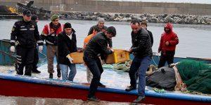 Balıkçı ağına ceset takıldı.