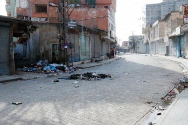 Cizre'de 20 bin kişi kaldı
