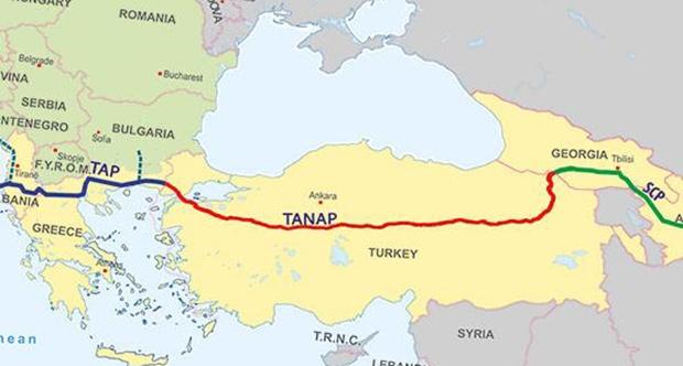 TANAP boru hattı inşaatı ihalesi sonuçlandı