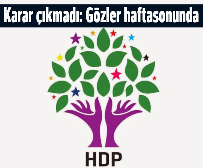 HDP'de yeni Anayasa tartışması sürüyor