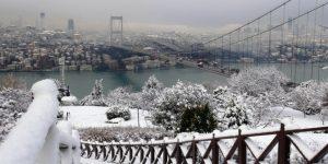 İstanbul'da Kar geri geliyor
