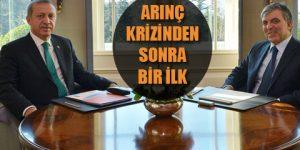 Erdoğan ve Gül'ün sürpriz buluşması