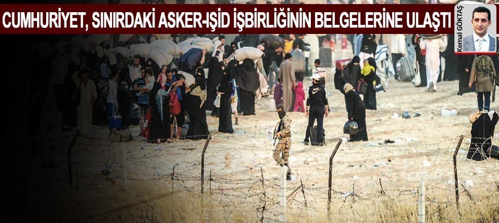 Sınırı IŞİD emiri ile yönetmişler
