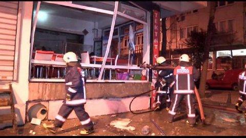 Bayrampaşa'da işyerinde patlama!
