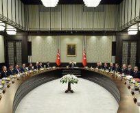 Bakanlar Kurulu Saray'da toplanıyor