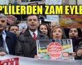 Kadıköy'de Zam Eylemi