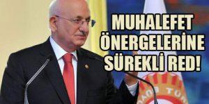 AKP Meclis'i çalıştırmıyor!