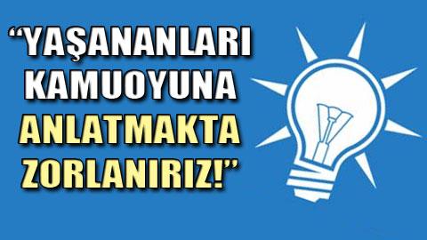 AKP'li vekiller de 'operasyonlar bitsin' dedi