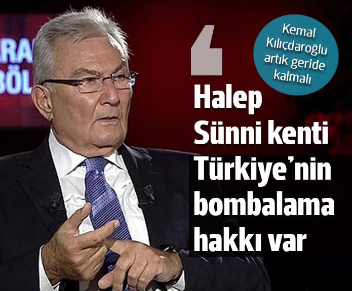 Deniz Baykal: Türkiye'nin bombalama hakkı vardır