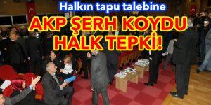 Sarıyer'li AKP'yi doğruya getirdi!