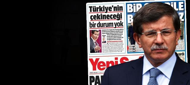 Havuz medyası'ndan Davutoğlu'nun sözlerine sansür