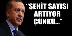 Erdoğan şehitleri de 'paralel'e bağladı!